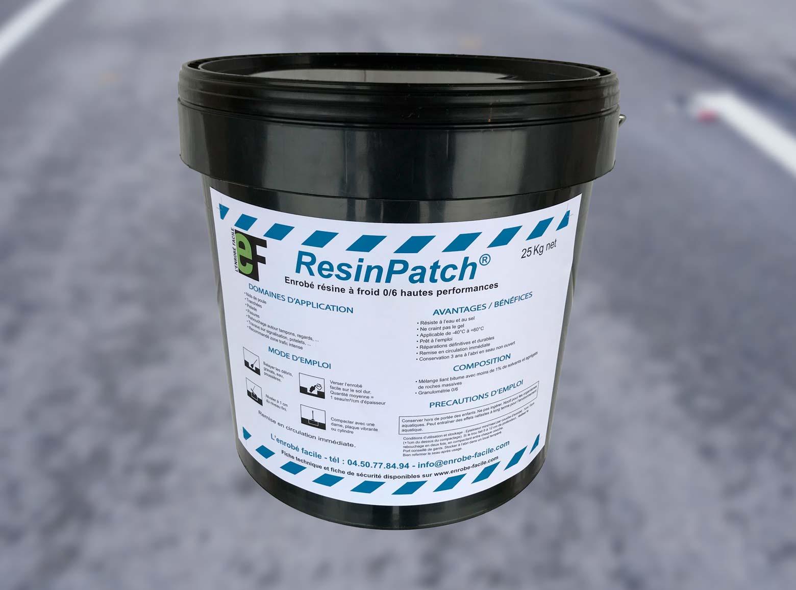 Resinpatch Réparation Routière Définitive À Froid
